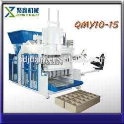 goods best sellers QMY10-15 hollow bricks making machine price
