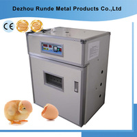 CE approved above 98% hatching rate small industrial RD-176 chicken egg incubator eggs hot sale