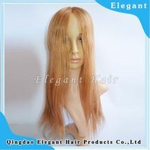 16 inch virgin peruvian human hair glueless full lace wig