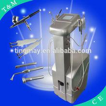 Injector oxygen for skin rejuvenation beauty machine