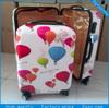 new designer lightweight hard cover 20''&24'' girls travel luggage bags
