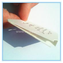 paper made custom folding jewelry hang tag