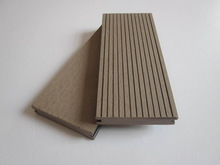 Hot sales !! Outdoor Wood Plastic Composite/WPC Solid Deck Flooring