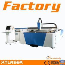 1-7mm espessura açoinoxidável usada de corte a laser máquina de corte de aço