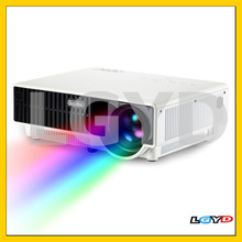 PRW300 2800 Lumens HD Digital LED Projector for Home Theater / School, Support 1080P(White)
