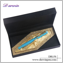 Polymer clay christmas the best gift is luxury metal pen