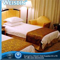 printed wholesale stripe 100% cotton fabic for bedding set