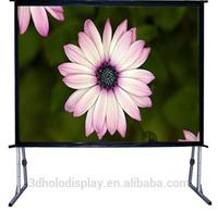 Quick Folding Projector Screen /Fast Fold Screen/Easy Fold Projection Screen,Custom Size
