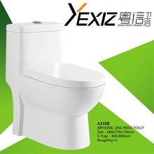A3108 Flooring bathroom toilet pot ,Ceramic hanging Bathroom toilet ,wall ceramic toilet