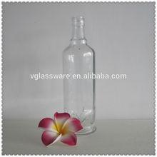 Antique glass water bottle 250ml glass liquor bottle