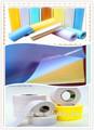 Meilleur- vente chance, rouleaux de papier autocollant sticker album miroir en papier rouleaux de papier velours adhésif