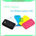 Tampa traseira para Nokia lumia 710 porta da bateria