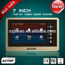 7inch full digital building and villa access control smart home video door phone