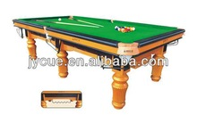 Newest cheapest English Style Snooker Table for fashion racing cap