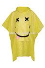 Printed rain poncho waterproof coat cape mac hood disposable or reusable