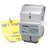 230V/400V Din rail Analog dispaly Three Phase Active & Reactive Integration Energy Meter