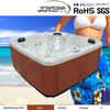 JY8018 Freestanding US acrylic Massage hot tub bath tub for 5 person outdoor ON SALE!
