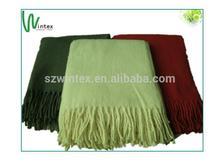 100% Acrylic Throw Blanket in fashion design!