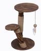 durable funny Wood cat tree Pet Cat climbing wood cat scratching post