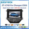 ZESTECH EXW price OEM car autoradio for Changan CS35 car auto dvd gps navigation car entertainment system