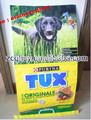 25 kg de fondo cuadrado opp pp tejidos laminados alimentación animal bolsa de alimentos para mascotas bolso del perro de embalaje bolsa