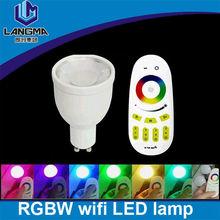 Langma smart lighting remote control 4W GU10 spotlight led rgb