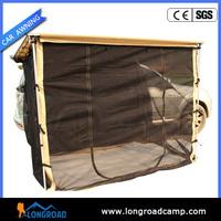Auto fiberglass trailer body awning