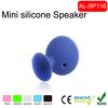 Cheap Octopus Shape Mini Ball Sucker Silicone speaker Mobile Phone Stand