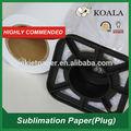 Gsm 100 seca rápido/pegajosa papel de transferência do sublimation