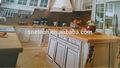 mármore padrão de mármore de vidro figurado vidro bancada da cozinha