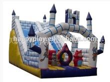 Castle slide inflatables, slide toys