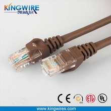 4 pair 8p8c CAT5E patch cord for net connection