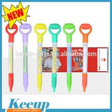 Creative massage banner plastic ball pen wholesale