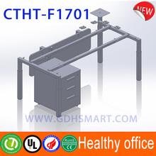 Usefull screw lifting adjustable steel frame Intelligent adjustable height metal table legs