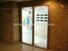 Korea subway direction sign use led light guide panel ,led light plate
