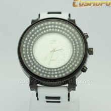 2014 fashion hip hop bling bling watches branded sports watch