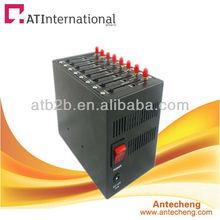 multi-socket gsm gprs 8 ports modem pool recharge Change IMEI function usb gsm modem download