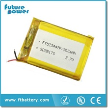 Factory price factory supply 900mAh Li-ion 3.7V rechargeable battery prices