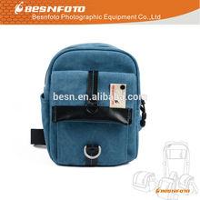 Medium Size waterproof canvas Sling bag for Canon Nikon Panasionc camera