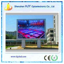 Custom size advertisng giant p10 outdoor/ buy led tv panel screen