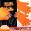 RENJIA silicon moulding gloves silicon gloves for industrial silcone bbq glove
