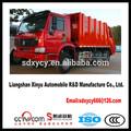 novo tipo de braço oscilante caminhão de lixo caminhão de lixo herméticos