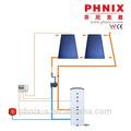 principio de funcionamiento del calentador de agua solar