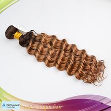 Hot selling virgin Brazilian hair weaving deep curly