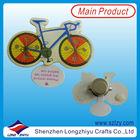 Bike LED Flashing Light Pins Badge Led Light,Custom Design Printing Epoxy Led Badges