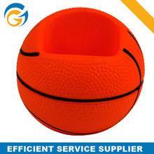 2014 Popular PU Gift Mobile Phone Holder Basketball