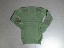 army green man thermal pullover sweater underwear sweater