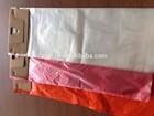 plastic newspaper bags with cardboard headers
