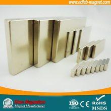 sintered rare earth neodymium magnet in block size