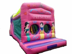 Cheerful Giant Inflatable Obstacle Course /inflatable lovely princess obstacle
